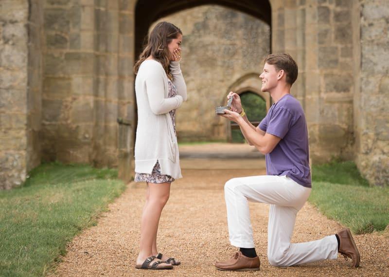 Engagement at Bodiam Castle